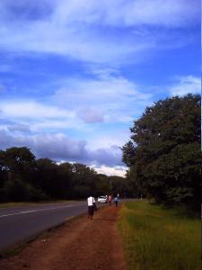 vic-falls blue sky