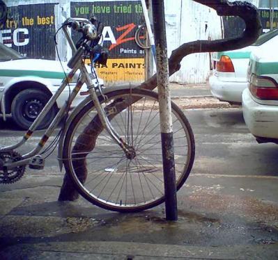 ダルエスサラームの自転車
