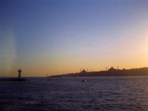 夕暮れのイスタンブール