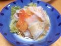 大根と白菜の土鍋蒸し 20131203
