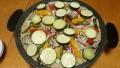 夏野菜の海鮮パエリア 20160807