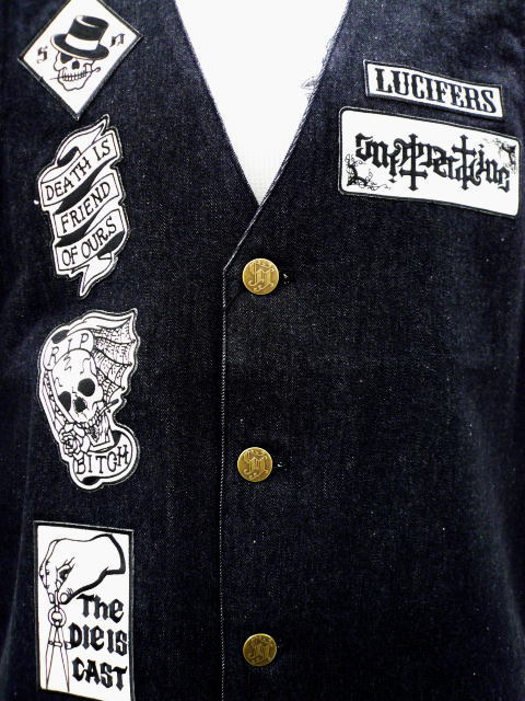 SOFTMACHINE PATCHED VEST