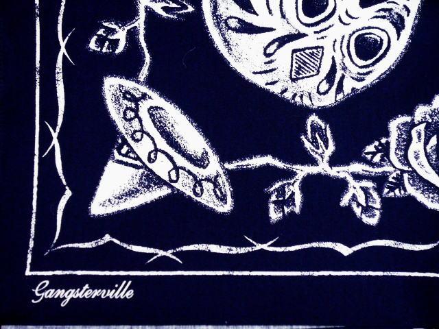 GANGSTERVILLE G.V.SKULL BANDANA