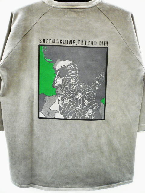 SOFTMACHINE TATTOO ME RAGLAN