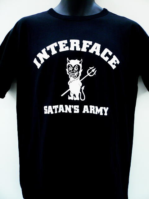 INTERFACE SATAN ARMY REVERSIBLE TEE