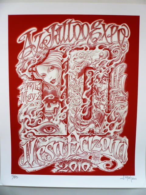 ARIZONE TATTOO EXPO POSTER