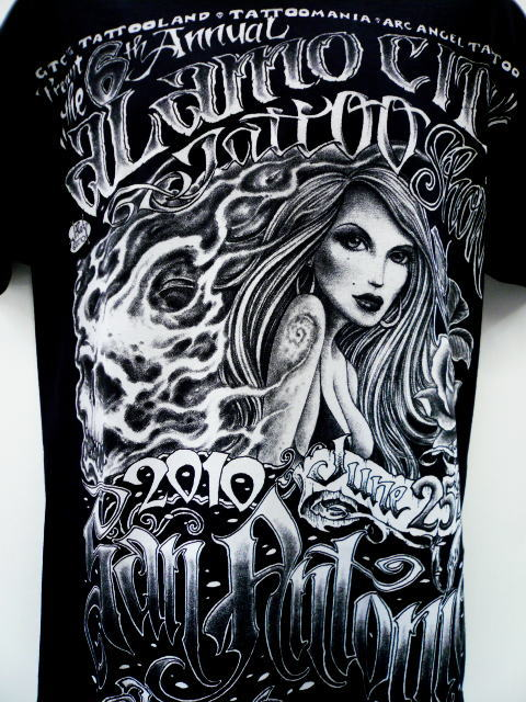 SAN ANTONIO TATTOO EXPO POSTER