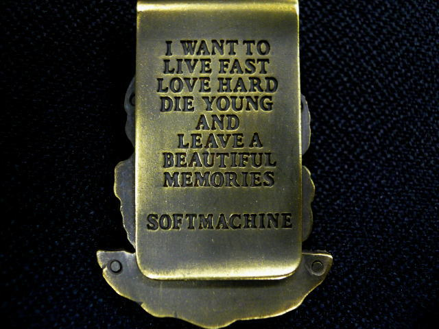 SOFTMACHINE EVA MONEY CLIP