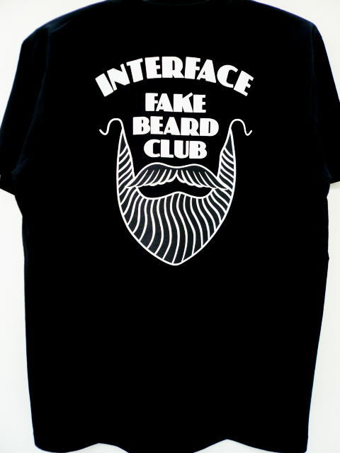 INTERFACE FAKE BEARD CLUB POCKET TEE