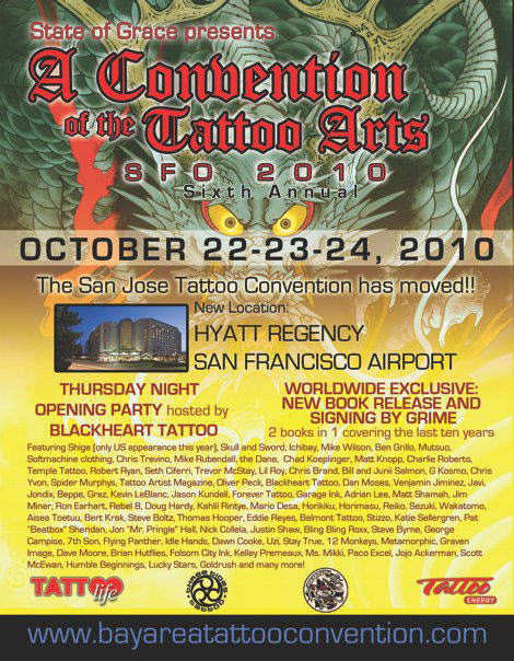 SF TATTOO CONVENTION