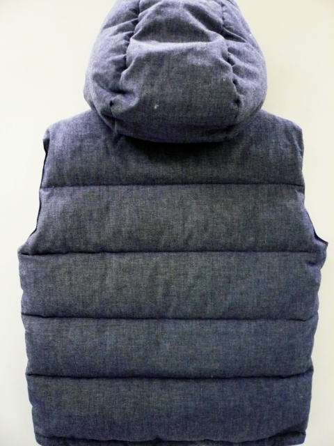 INTERFACE CHAMBRAY DOWN VEST