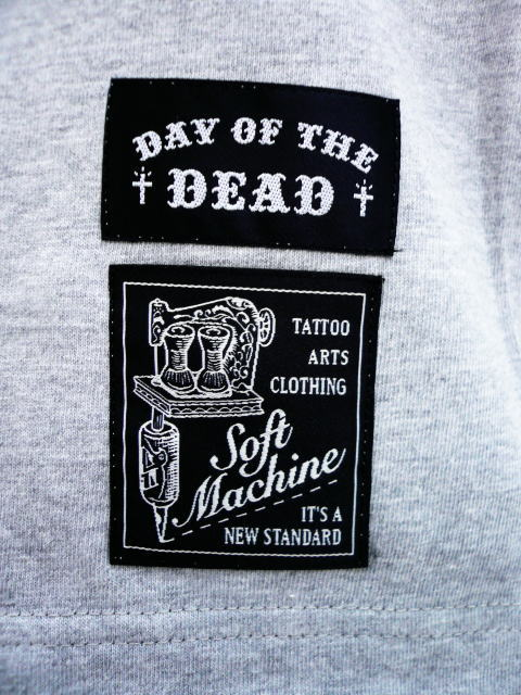 SOFTMACHINE×DAY OF THE DEAD EVIL SKULL TEE
