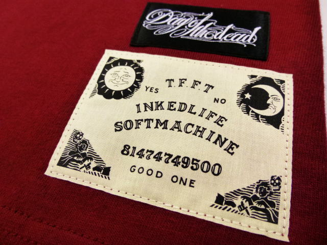 SOFTMACHINE×DAY OF THE DEAD MAN'S RUIN-T