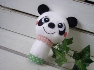レトロな指人形・・・パンダ♪