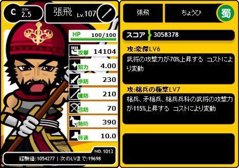 4期武将紹介C張飛2010/12/1