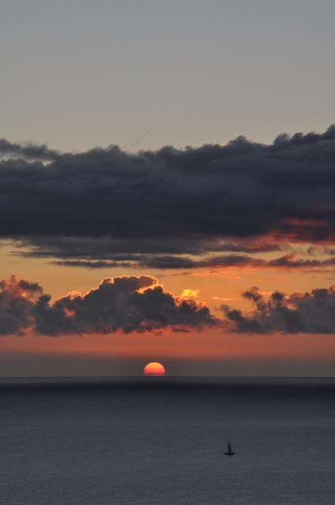 沈む太陽②
