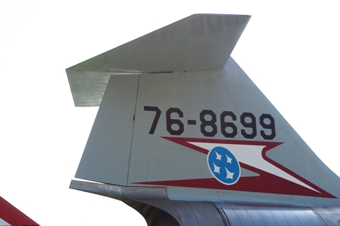 F104J尾翼