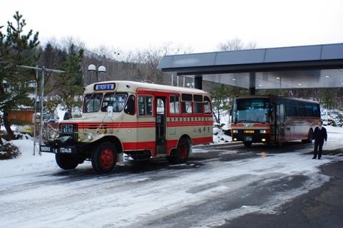 ボンネットバス1
