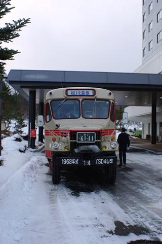 ボンネットバス2