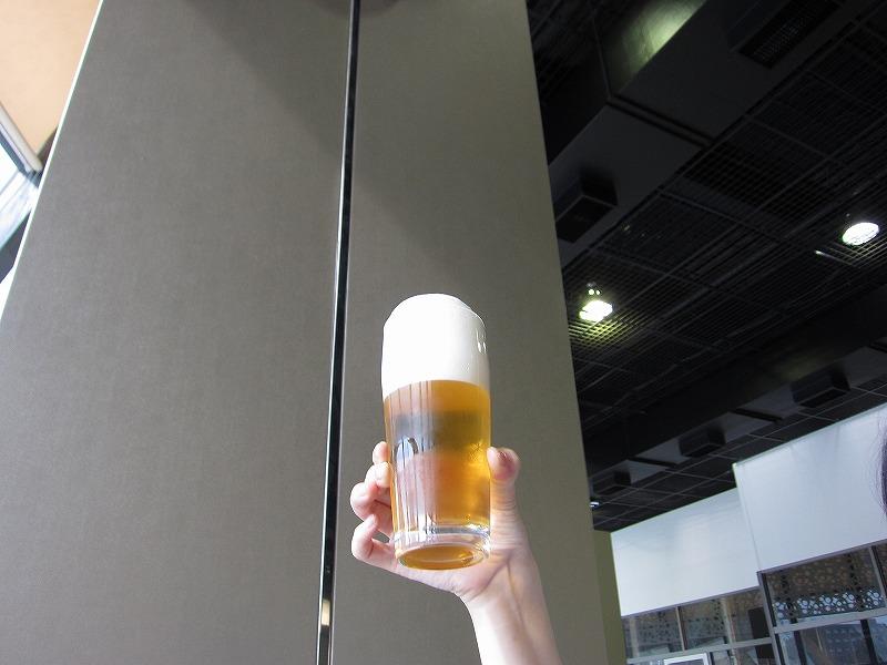美味しいビールの注ぎ方♪