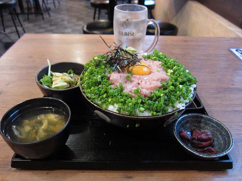 ねぎとろ丼 特盛り  ¥680