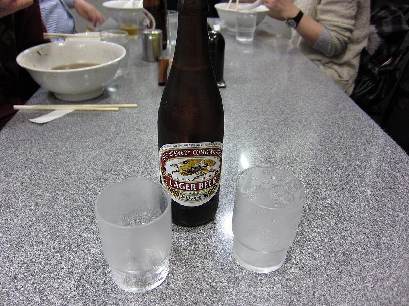 ビール  ¥500