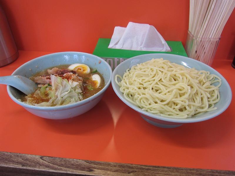 味噌つけ麺 大盛り  ¥900 + ¥100