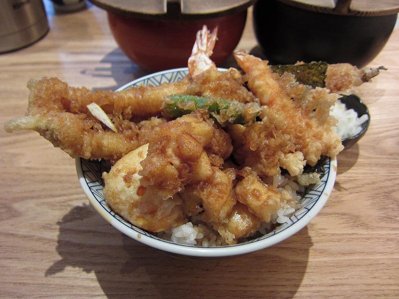 天丼 大盛り  ¥880 + ¥100