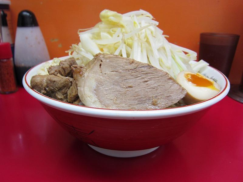 大 麺増し 500g 麺カタメ  ¥800