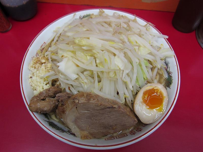 大 麺増し 500グラム 麺カタメ ヤサイちょい増し ニンニク