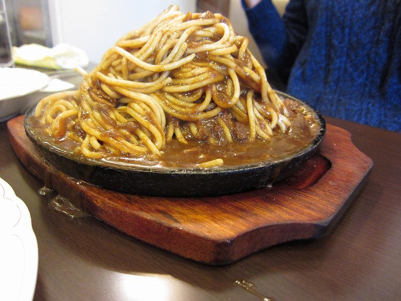 カレースパゲティー 大盛り
