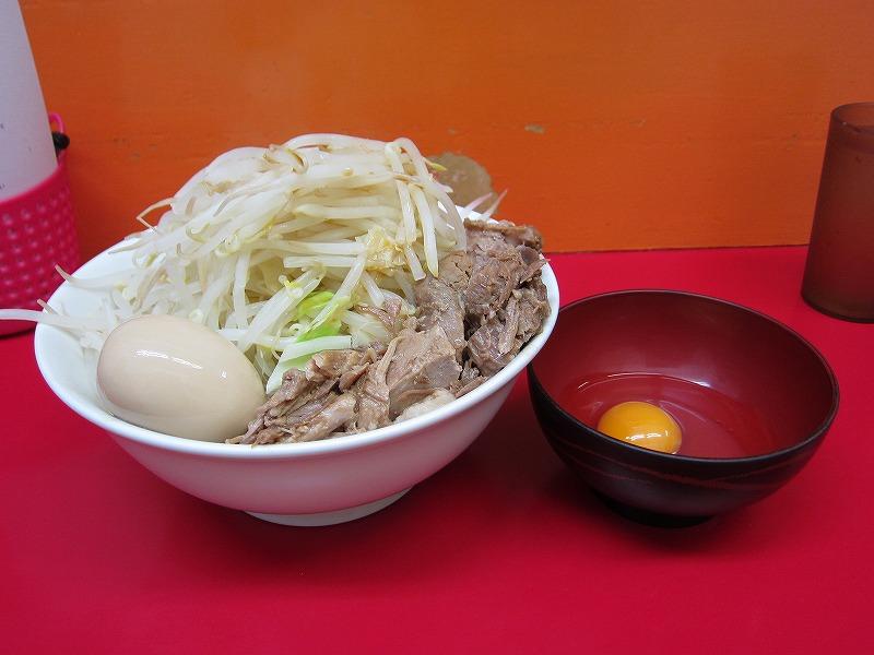 ラーメン 中 味玉 なま玉子(スタンプカード使用) ¥700