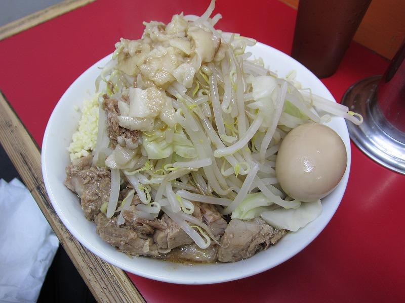 ラーメン 中 全増し 味玉(サービス) ¥700