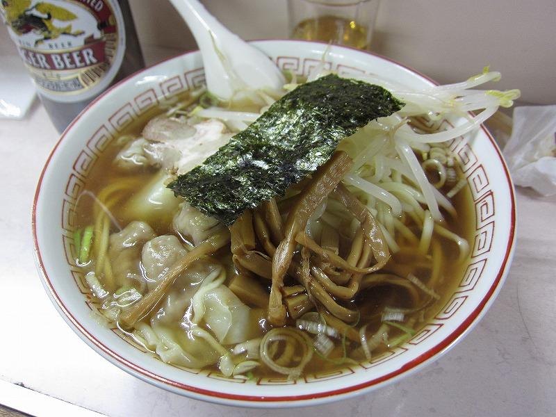 ワンタン麺大盛りw