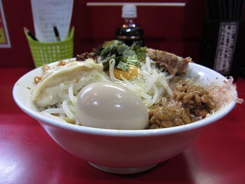 納豆まぜそば大 麺増し500g  ¥1000