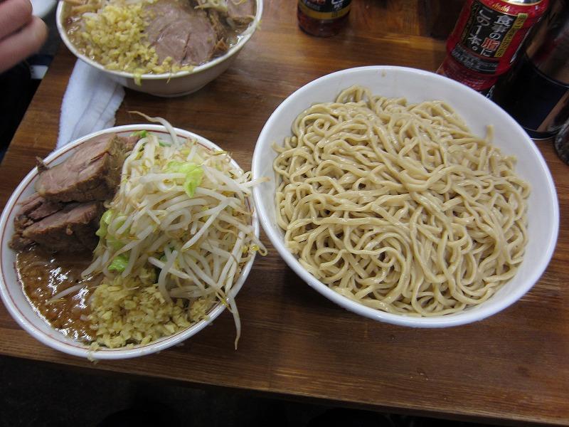 大つけ麺 しょうが ヤサイ少なめ