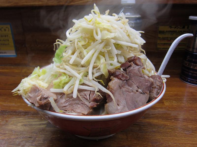 大ラーメン 麺カタメ  ¥800
