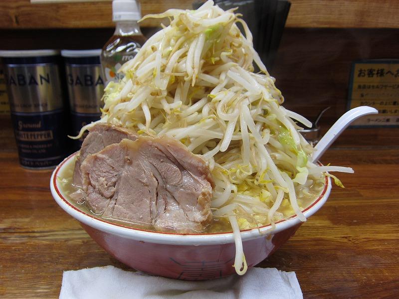 大ラーメン 麺カタメ しょうが ¥800+¥50