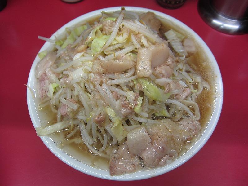 大ラーメン 麺カタメ ヤサイ アブラ カラメ