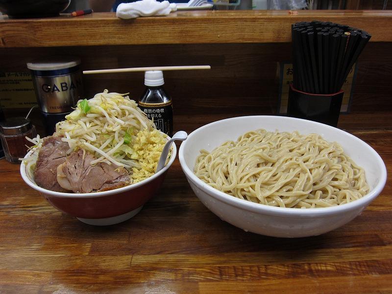 大つけ麺 麺増し しょうが ¥950+募金+¥50