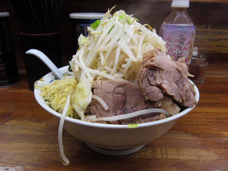 小ラーメン 麺カタメ しょうが ¥700+¥50