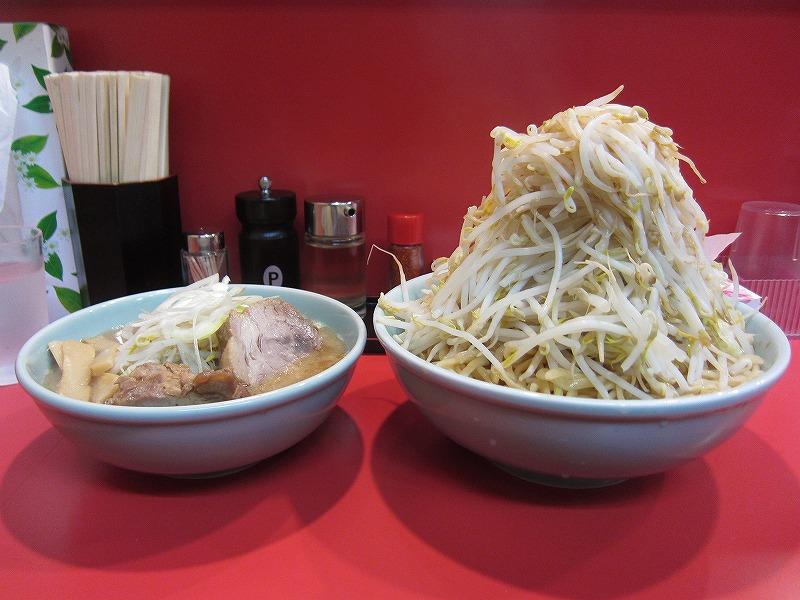 塩つけ麺 大盛り×2  ¥780+¥100+¥100
