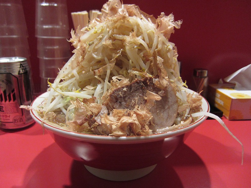 魚らーめん 大盛り ¥700+¥100