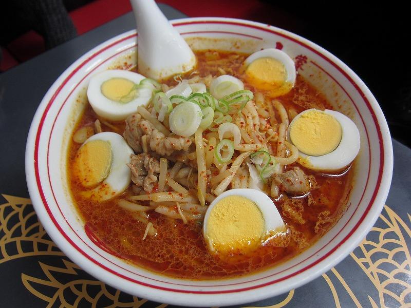 味噌卵麺 ¥850
