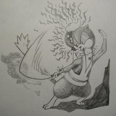 悪魔のフワンテ退治