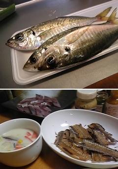 お魚メニュー