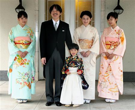 【皇室】悠仁さま、着袴の儀と深曽木の儀=成長祝い、男子で41年ぶり