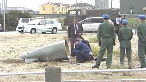 10月7日、石川県の航空自衛隊・小松基地所属の戦闘機F15の燃料タンクが落下した