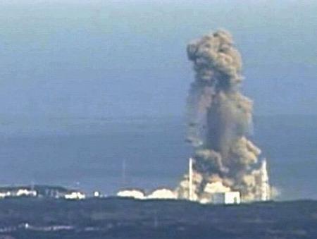 福島第1原発、3号機で水素爆発