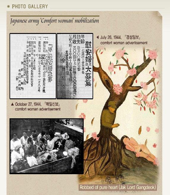 韓国政府が「慰安婦が強制連行された証拠Nida!」と自慢する資料。1944年、「慰安婦を募集!月給300円以上!3000円まで借金が可能!」と書いてある。